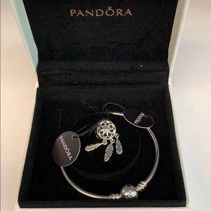Pandora Bracelet & Spiritual Dream Catcher charm